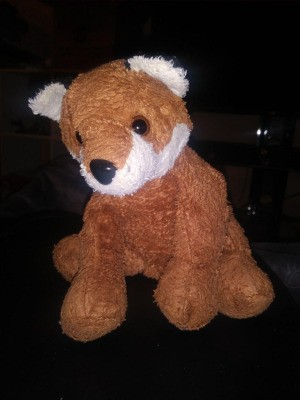 Purchasing a Vintage Stuffed Fox Toy - brown and white stuffed fox toy