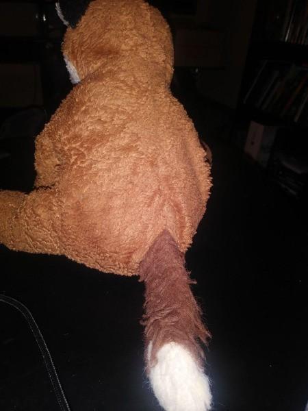 Purchasing a Vintage Stuffed Fox Toy