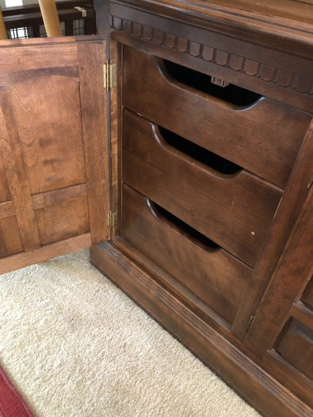 Value of a Vintage Ethan Allen Hutch/Buffet Cabinet