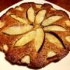 baked nectarine cake
