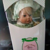 Value of a Paradise Galleries Doll - baby doll in the box