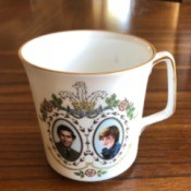 Selling a Royal Grafton Commemorative Tea Cup - Charles and Diana cup