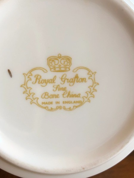 Selling a Royal Grafton Commemorative Tea Cup