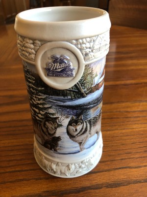 Selling Miller Collectible Holiday Steins