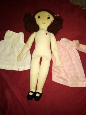 Value of a Sara Beck Cloth Doll