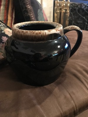 Identifying a Piece of Pottery - single handled bean pot style cup or mug