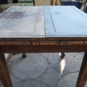 Identifying an Antique Table