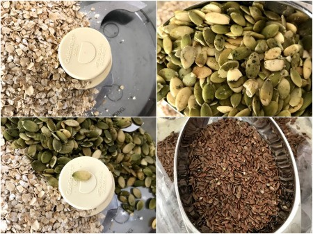 nuts in food processors