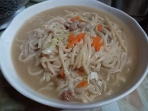 bowl of Lomi