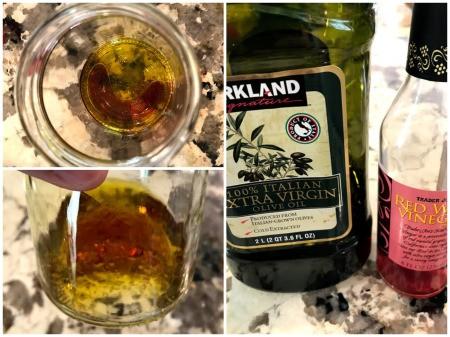 olive oil & vinegar
