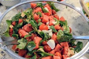 Watermelon Salad n bowl