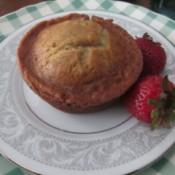 Banana Comfort Muffins on plate