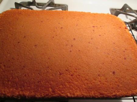 baked Strawberry Cake