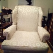 Value of an Antique Chair - upholstered chair
