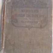 Value of Webster's 1877 Handy Dictionary