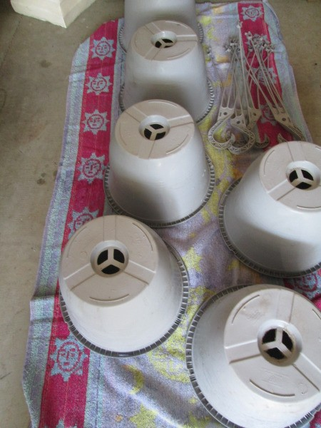 Reconditioning Flower Pots
