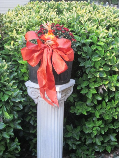 Dressing Up Your Garden With Ribbon