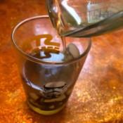 DIY Workout Enhancer Lotion - pour into clean jar