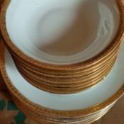 Value of Schwarzburg China - stack of bowls and plates
