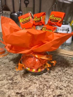 Fall/Halloween Candy Bouquet