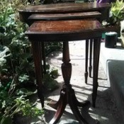 Value of a Grand Rapids Imperial Furniture Table - nesting table