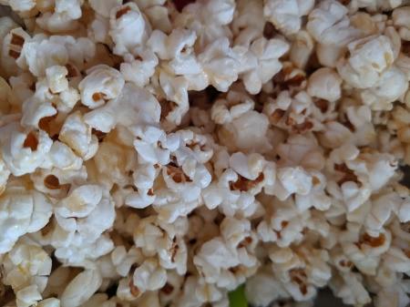 mixed Honey Coconut Popcorn