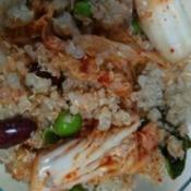 Veggie Quinoa Mix on plate
