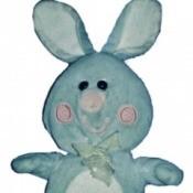 Identifying a Plush Bunny - blue plush bunny