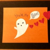 You're My Boo Card - finished card