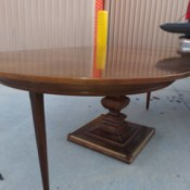 Identifying an Antique Table with Extensions