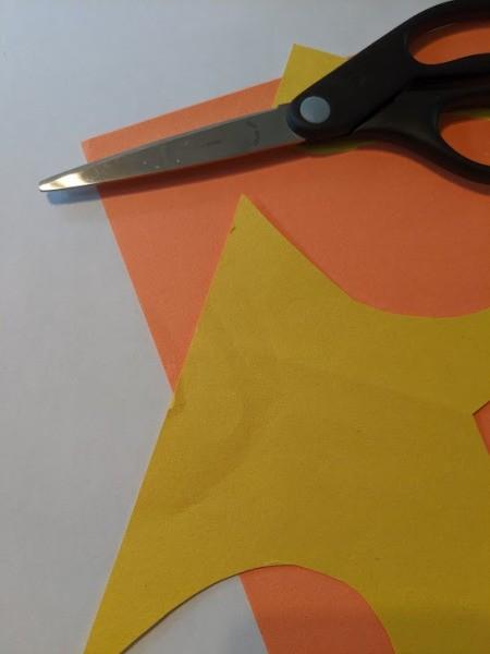 Kid's Fall Owl Decor Craft - supplies