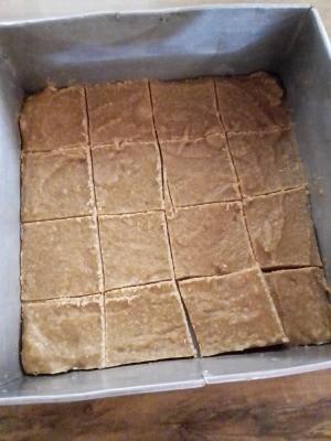 cut Square Corn Cookies