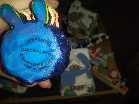 Value of a Cardinal Inc. Santa Trinket Box