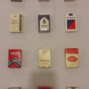 Value of Old Packages of Cigarettes