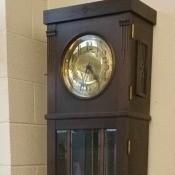 Value of a Lenzkirch Grandfather Clock - rather plain dark wood clock