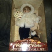 Value of a Singing Collector's Choice Porcelain Doll - doll in the box