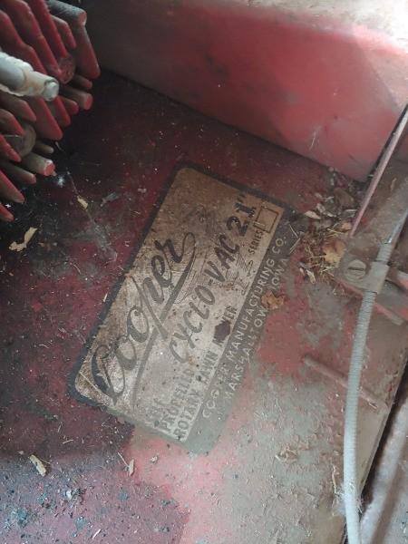 Value of a Vintage Cooper Cyclo-vac Lawn Mower