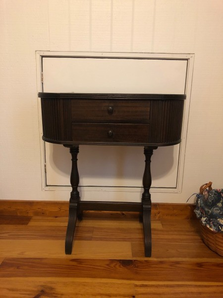 Identifying an Old Sewing Cabinet