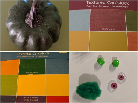 Dragon Pumpkin Decoration - supplies