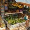 Nature's Present in the Market - open air market with fruit displayed