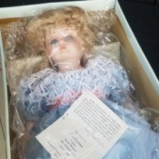 Value of a Betty Jane Carter Doll - musical doll in a box