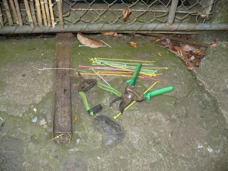 Bamboo Garden Gate - tools