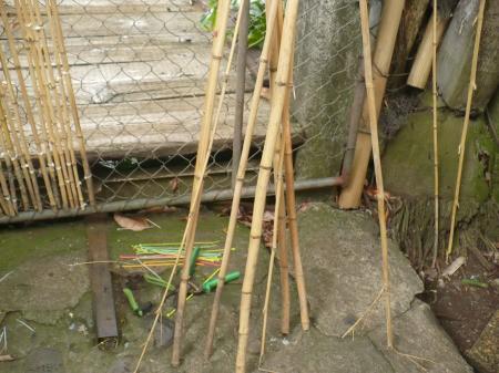 Bamboo Garden Gate - supplies