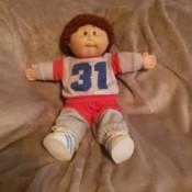 boy doll in sweats