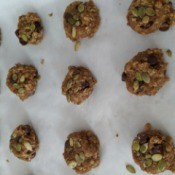 baked Chocolate Pumpkin Cookies