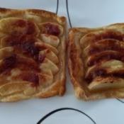 baked Apple Strawberry Tart