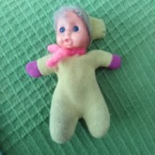 Identifying a Stuffed Baby Doll - soft bodied baby doll