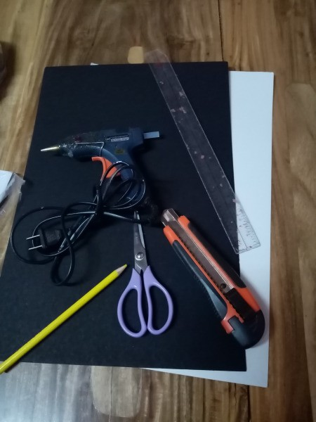 DIY 4 Tier Cupcake Stand - supplies