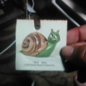 Value of Duncan Enterprises Ceramic Molds - tag for snail mold