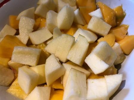cut Fruit for Salad